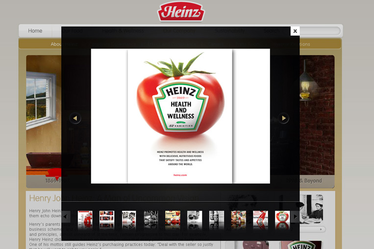 Preview image for Heinz.com