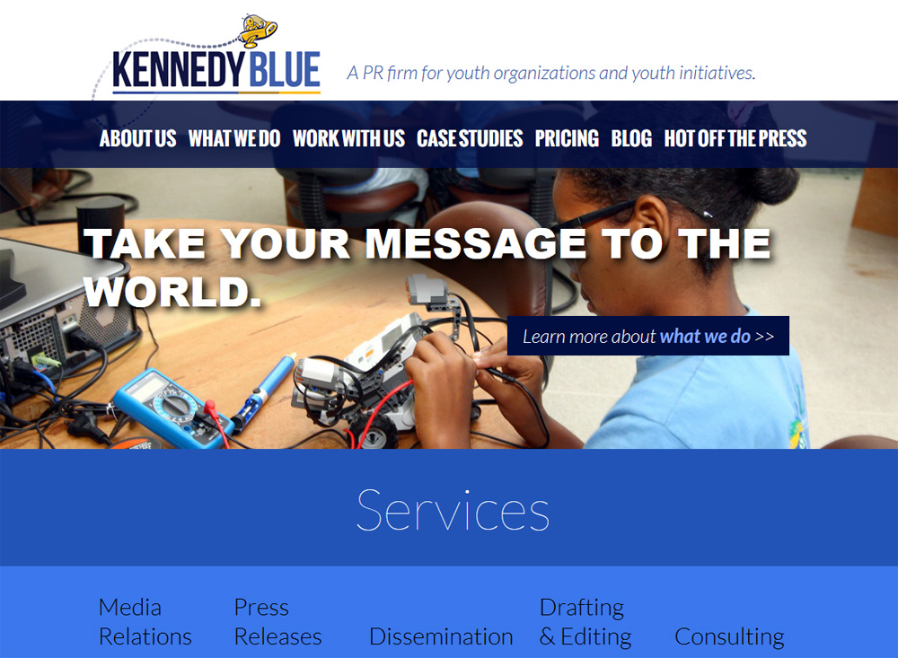 Preview image for Kennedy Blue Communications